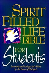 Holy Bible Spirit Filled Life Bible For Students, New By Jack W. Hayford