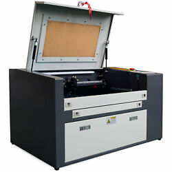 Us Stock 50w Co2 Laser Engraving Cutter 12 X 20 Work Table With Y-axis Rotary