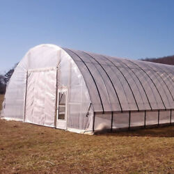 20 Ft X 20 Ft 5 Year Clear Greenhouse Plastic Film 6 Mil Cover Uv Resistant