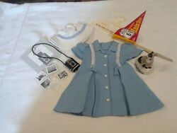 American Girl Doll Molly Route 66 Outfit And Accessories