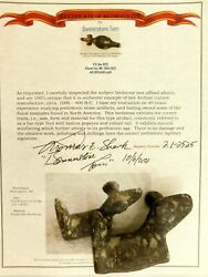 Flawless Exquisite Spotted Porphyry Florence Co Wisconsin Popeyed Birdstone Coa