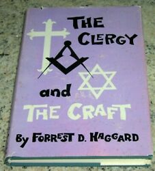 The Clergy And The Craft By Forrest D. Haggard, Hc/dj 1st Edition