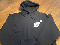 Official Bored Ape Yacht Club Bayc The Hundreds Collab Black/pink Hoodie Xl New