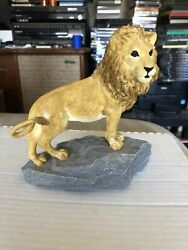 Marty Sculptures Martha Carey The Herd Monarch Lion Figurine 3601 Signed