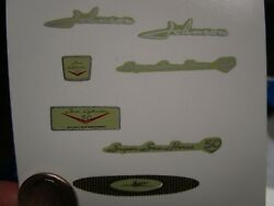 Kando 1958 Johnson Super Sea Horse 50 Toy Outboard Motor Reproduction Decals