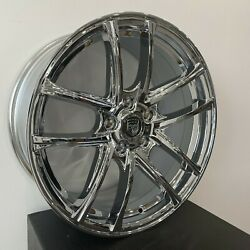 4 G38 18 Inch Chrome Rims Fits Cadillac Catera 2000 - 2001