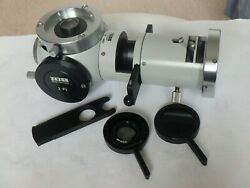 Zeiss Microscope Epi-condenser Iv Fl46 63 00-9901 - Complete With Reflector