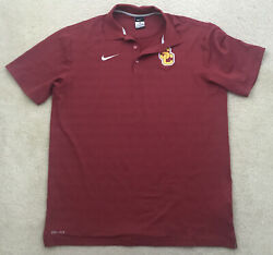 Nike Dri-fit Usc Trojans Men's Polo Shirt Large New Without Tags