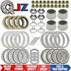 [4-sets] New 3500lbs-trailer Complete Axle Bearing Kit For Ez-lube 84 Spindle