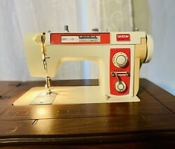 Vintage Brother Boutique Sewing Machine Model 761 Sewing Table Tested Runs