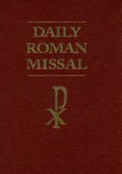 Daily Roman Missal Burgundy By James Socias - Hardcover Excellent Condition