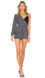 Lovers + Friends Sally Romper Ditsy Floral