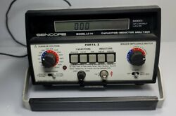 Sencore Lc76 Capacitor Inductor Analyzer Turns On Untested Read