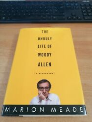 The Unruly Life Of Woody Allen Original Hand Signed Book Rare Autograph