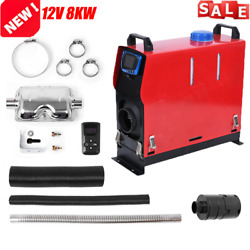 Diesel Air Heater All In One 8kw Lcd Monitor For Cars Trucks Boats Bus Rvs Nwe