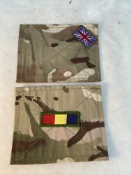 X2 British Military Mtp Reme Regiment Blanking Patches Panel Uk For Ubacs/pcs