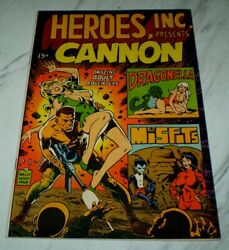 Heroes Inc. Nn Nm+ 9.6 White Unrestored 1969 - Wally Wood Inscribed And Signed