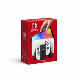 Nintendo Switch Oled Model W/ White Joy-con Gaming Console Free Ship Today