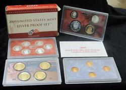2009 United States Mint Silver Proof Set 18 Coins 90 Silver Beautiful