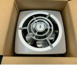 Nutone Vintage 10 Wall Pullchain Fan 8110sa Silver Anodized/aluminum Grille Nos