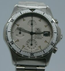 Rare Vintage Tag Heuer 2000 Series Chronograph, Excellent Condition, New Battery