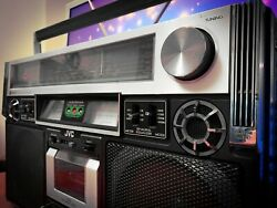 Jvc Rc-838jw Iconic Boombox 1978 Vintage Stereo Recorder