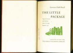 The Little Package--pages On Literature And Landscape From By Lawrence Clark