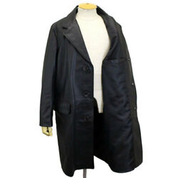 Schott No.7582 568us Leather Chester Long Coat Leather Made In The