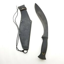 Cold Steel Knives Carbon V 17 Kukri Knife W/sheath Preowned Used But Solid Rare