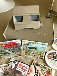 Vintage Sawyerand039s View-master With Bakelite Case And Reel Lot Awewome Early 1970