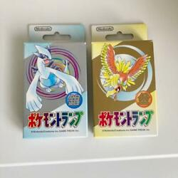 Pokemon Playing Cards Gold Silver Set