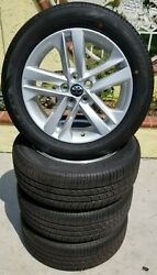 16 Toyota Corolla Oem Wheels And Dunlop Tires 16x7 75235 New Take Off