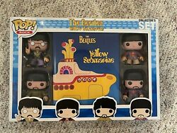 Funko Pop The Beatles Yellow Submarine Collector's Set 4 Pack - Great Condition