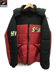 Hysteric Glamour Wind And Sea/hys Wds Primaloft Hoodie/l Secondhand