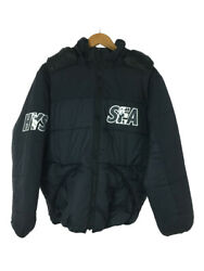 Secondhand Hysteric Glamour 20aw/primaloft Hoodie Batting Jacket Black Made In