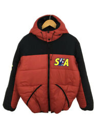 Secondhand Hysteric Glamour 20aw/hys Wds Primaloft Hoodie Jacket Nylon Red Plain