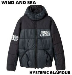 Hysteric Glamour Wind And Sea/sea Hys Hoodie Jacket Wds Primaloft