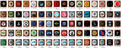 203 Different Usa Craft Micro Brewing Beer Crown Plastic Bottle Cap Set - S's