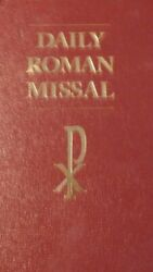 Daily Roman Missal Sunday And Weekday Masses For Proper By Catholic Church Vg