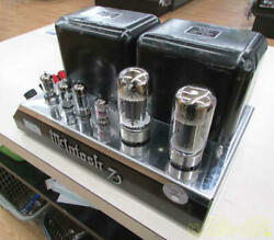 Mcintosh Mc75 Power Amplifier Power Supply Voltage 100v Safe Delivery From Japan