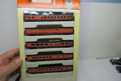 Con Cor N Scale Southern Pacific Daylight 5 Car Passenger Boxed Set Pls Read