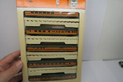 Con Cor N Scale Great Northern Empire Builder 5 Car Passenger Boxed Set Read