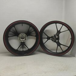 Pair Wheel Front + Wheel Rear Forged Marchesini