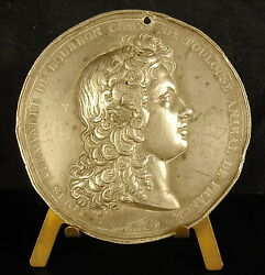 Medal Louis Alexander Of Bourbon County Of Toulouse Admiral French C 1820