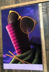 Vintage Poster George Peters Calendar Minnesota Cup With Sunglasses And Comb