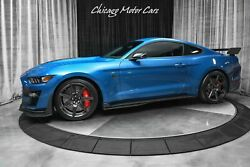 2020 Ford Mustang Shelby Gt500 Coupe Carbon Fiber Track Pack Techno 2020 Ford Mustang Shelby Gt500 Coupe Carbon Fiber Track Pack Techno Velocity Bl
