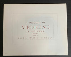 A History Of Medicine In Pictures- Series Two Set Parke Davis Robert Thom