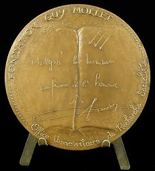 Medal Foundation Guy Calf Of Search Socialist Santucci 1979 Medal
