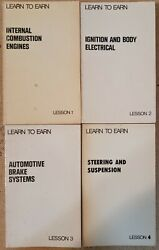 Chrysler Fca Learn To Earn 1960s Manual Book Automotive Detroit Vintage Collect