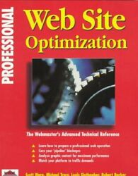 Professional Web Site Optimization By Scott Ware And Michael Tracy Brand New